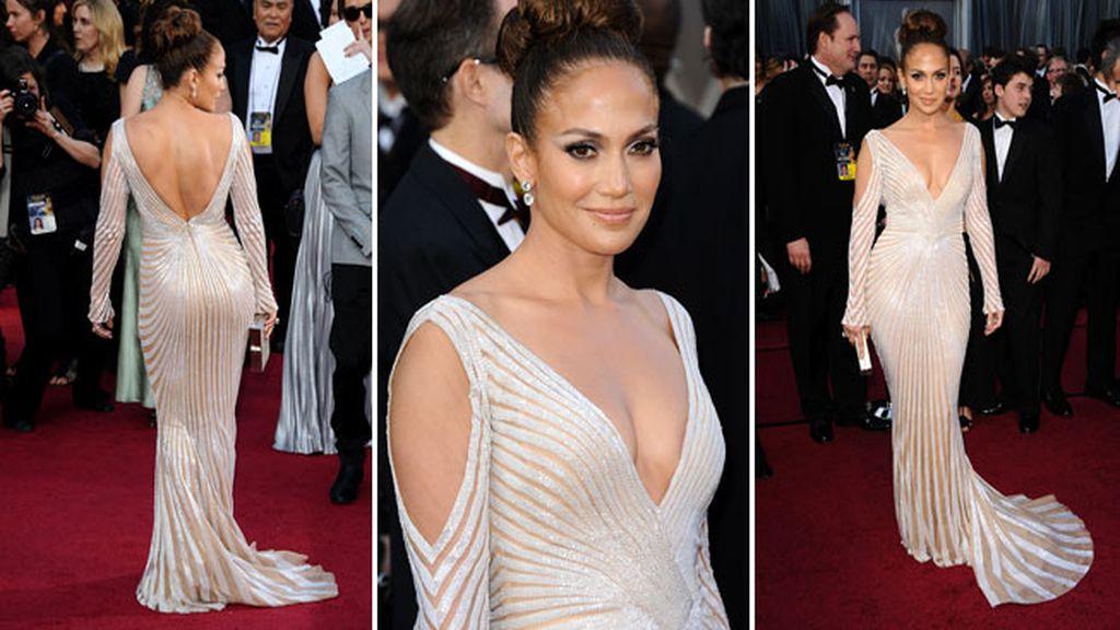 Glamour en la alfombra roja de los Oscar