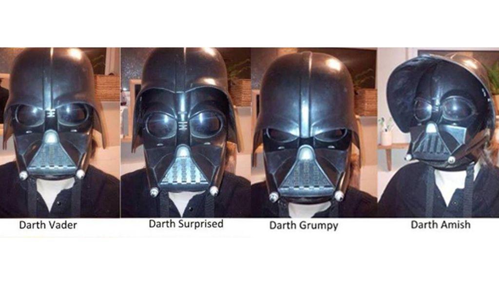 Los estados de ánimo de Darth Vader