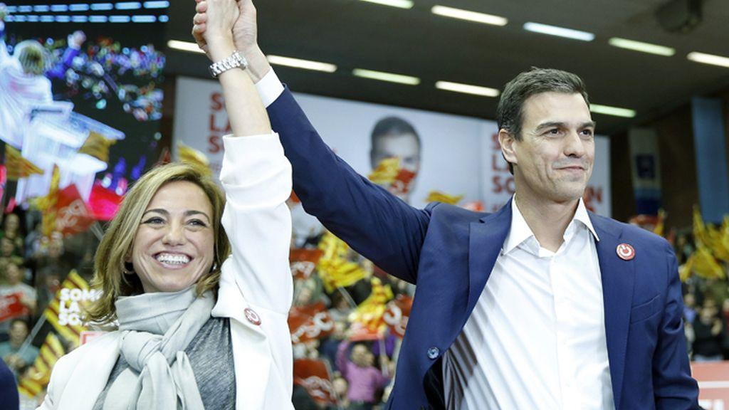 """Sánchez llama a que Cataluña sea """"punta de lanza del cambio"""" en el 20D"""