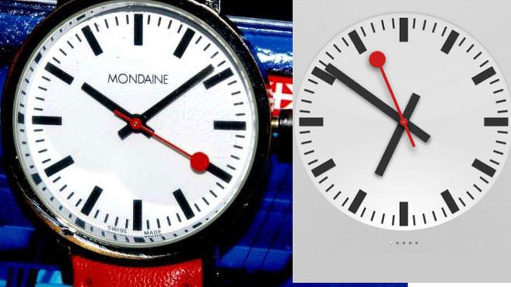 El reloj que se convirtió en un modelo para los relojes de la estación en Europa fue diseñado por Hans Hilfikeren en 1944.