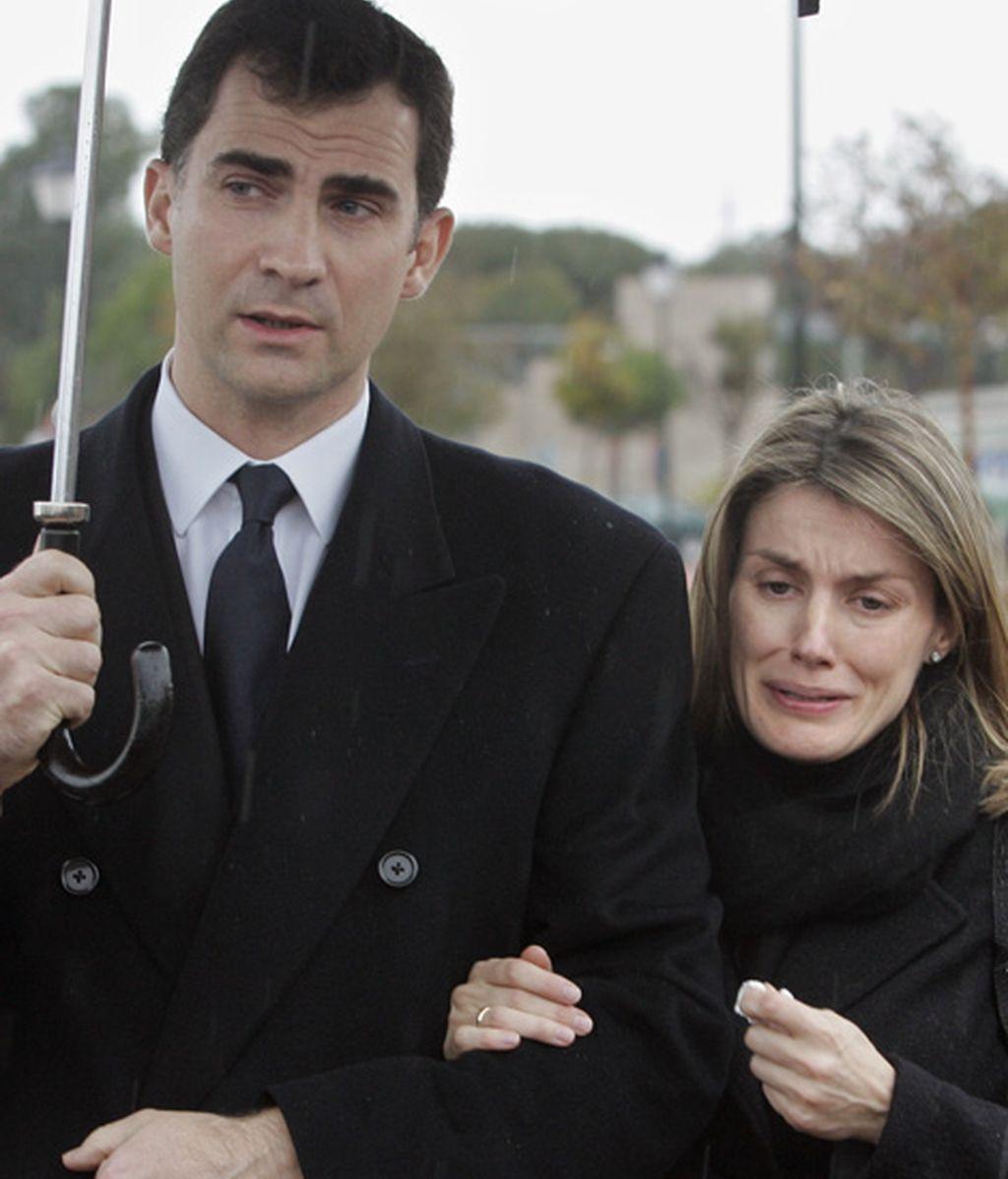 La muerte de Érika Ortiz, hermana de la princesa (febrero de 2007)