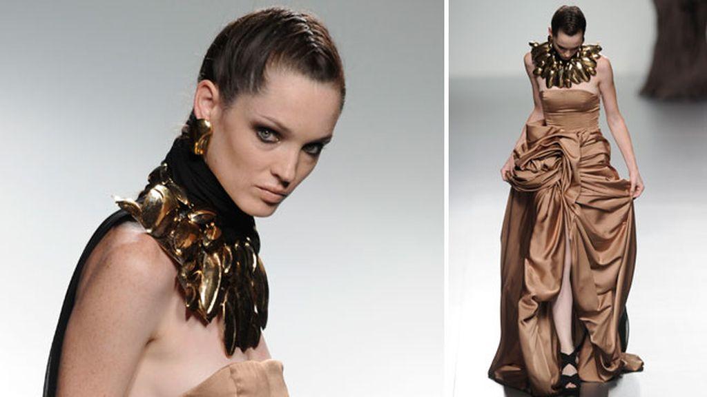 Musas esculpidas: María Barros