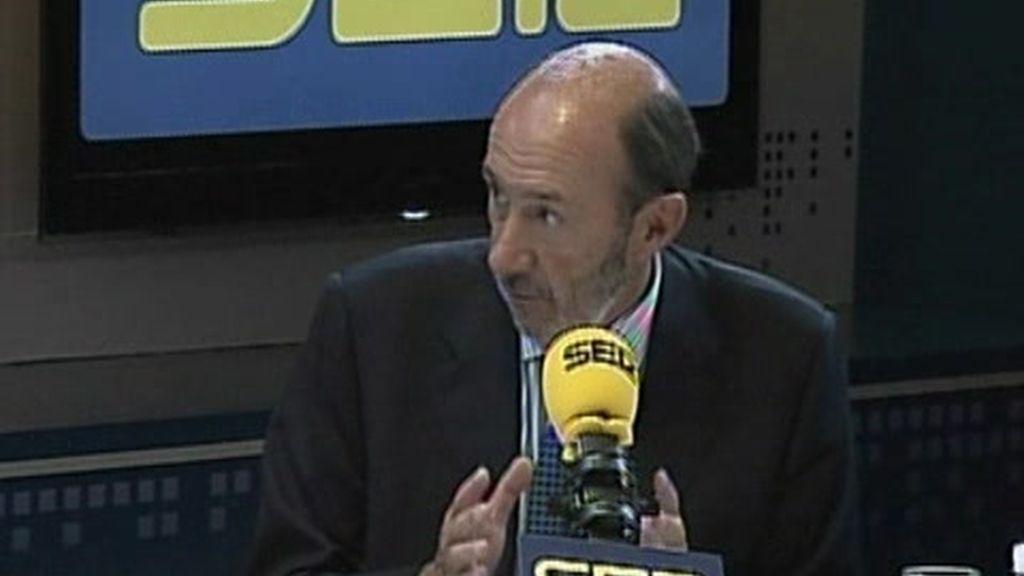 Para Rubalcaba la misión de España en Afganistán es ineludible