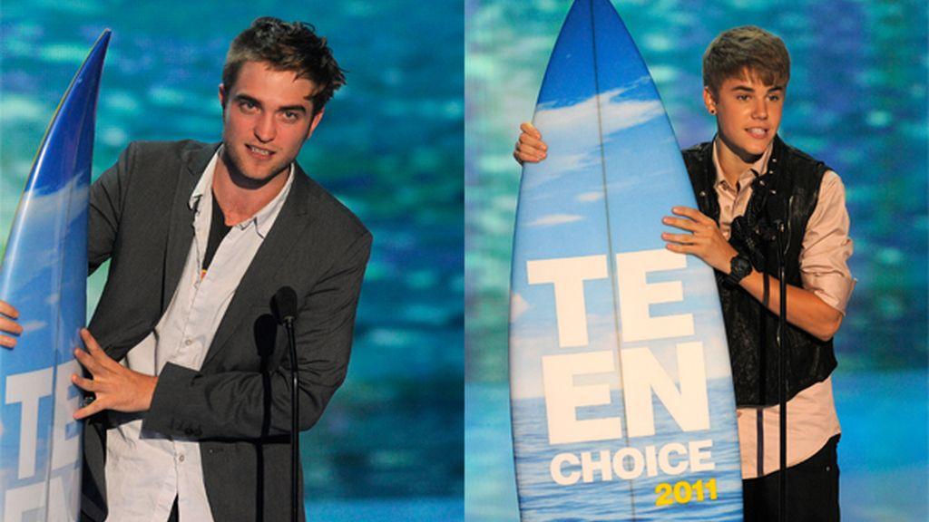 Los dos concidieron en la última edición de los premios Teen Choice