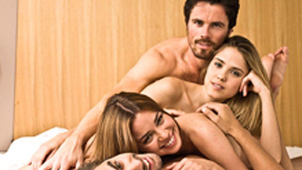 Los protagonistas de la serie, portada de 'Pantalla Semanal'