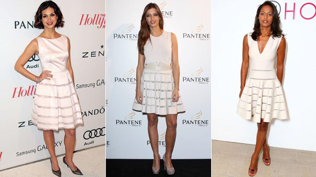 ¿Quién lo lleva mejor? Descubre el vestido que vuelve loca a las celebrities
