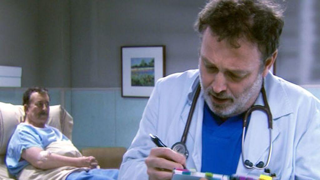Paco Valladares en 'Hospital Central'