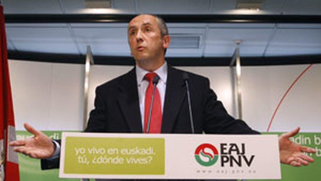 El portavos del PNV en el Congreso Josu Erikoreka FOTO: REUTERS