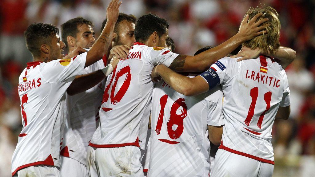 El Sevilla comienza con sonrisa