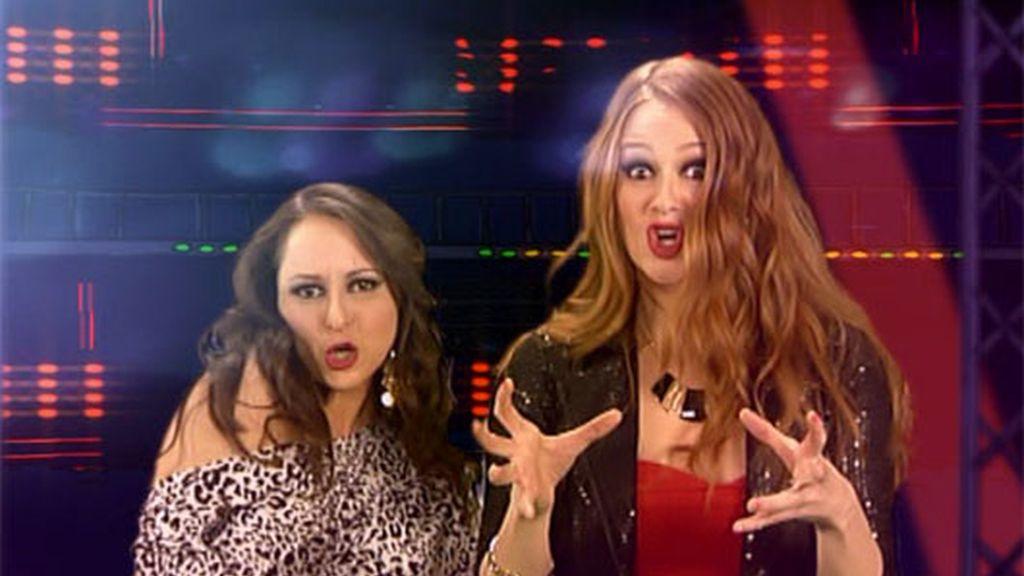 El videoclip de Lore y Macu, en fotos