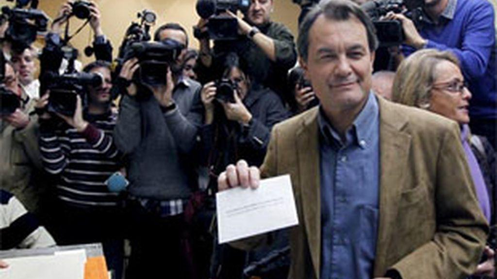 La victoria de Artur Mas confirma el castigo del electorado catalán al tripartito. Vídeo: ATLAS