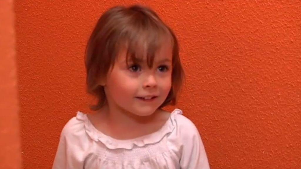 Ainhoa, una niña muy desobediente
