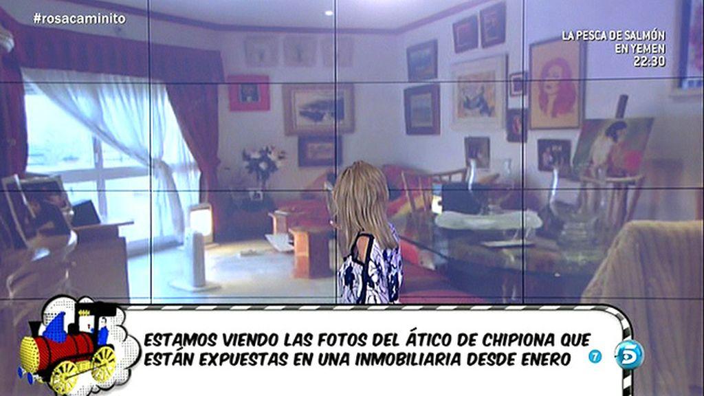 Rosa Benito se sorprende por el cambio de la casa