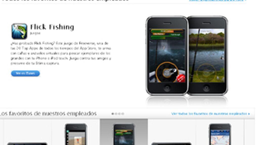 Aplicaciones para el iPhone. Foto: Apple.