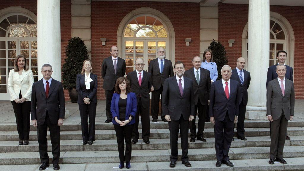 Consejo de Ministros. Foto: EFE.