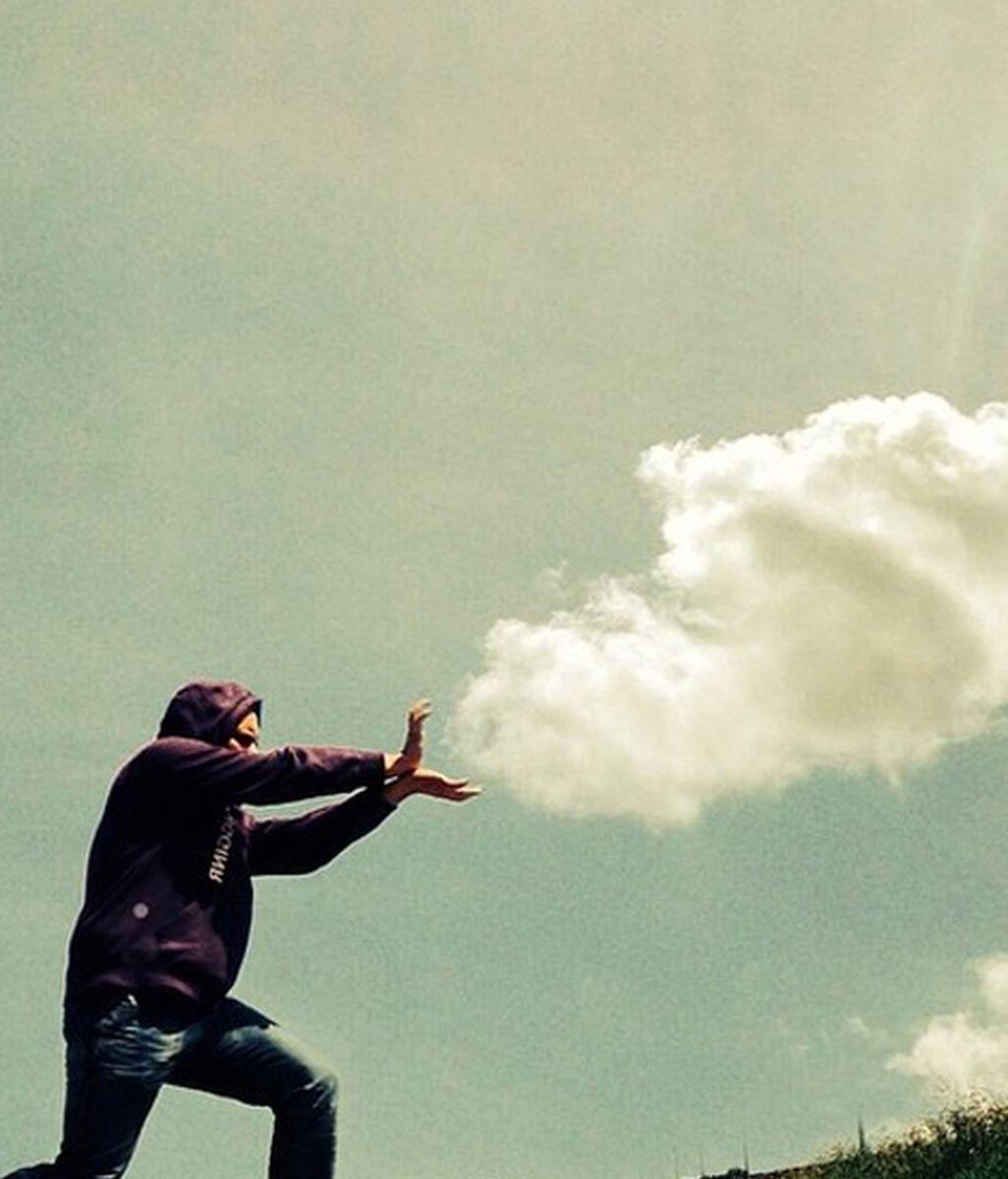Con la cabeza en las nubes