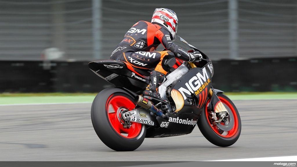 Collin Edwards en los primeros libres del GP de Holanda