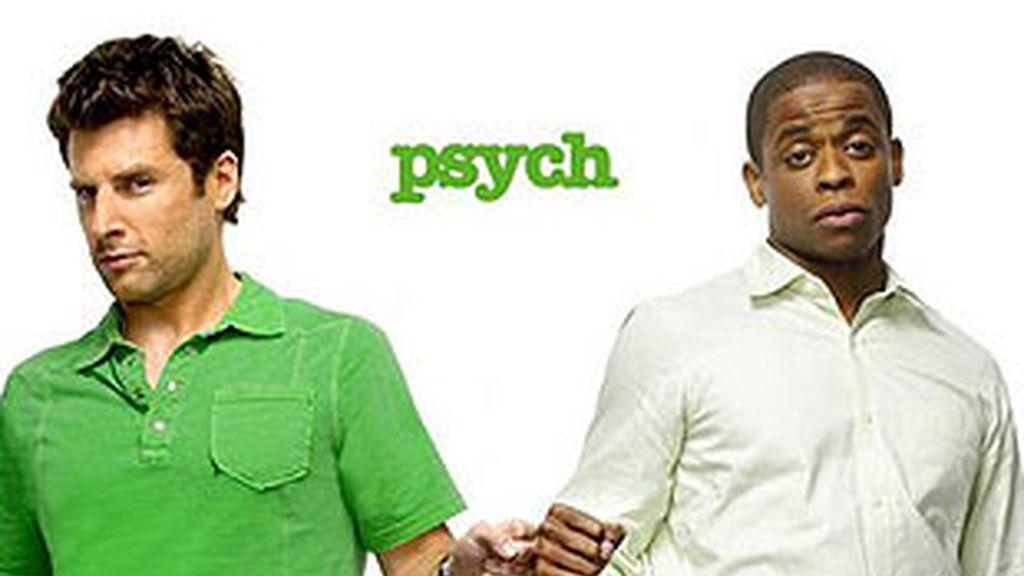 'Psych', comedia en la que un investigador poco ortodoxo emplea supuestos poderes paranormales para resolver casos