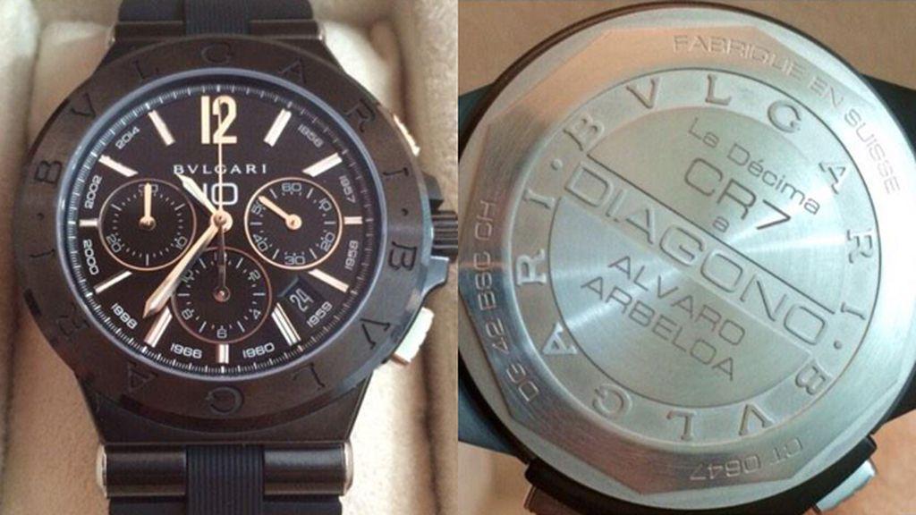 Reloj Bulgari regalado por Cristiano Ronaldo