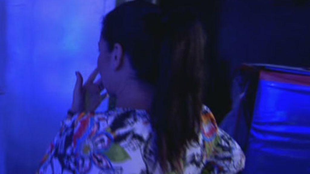 Lara Rodríguez se derrumba
