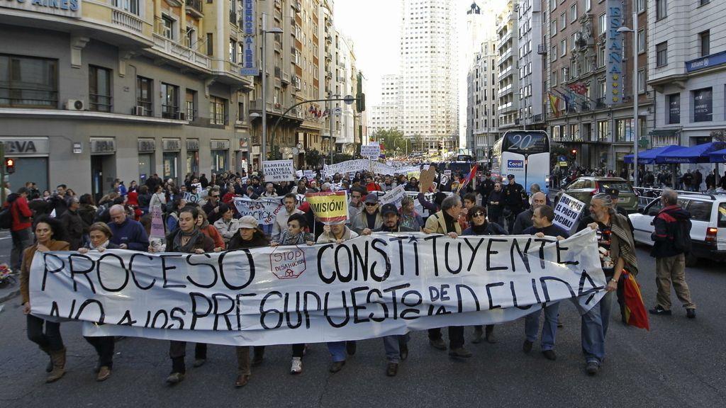 """El 25-S recorre las calles de Madrid contra """"los Presupuestos de la deuda"""""""