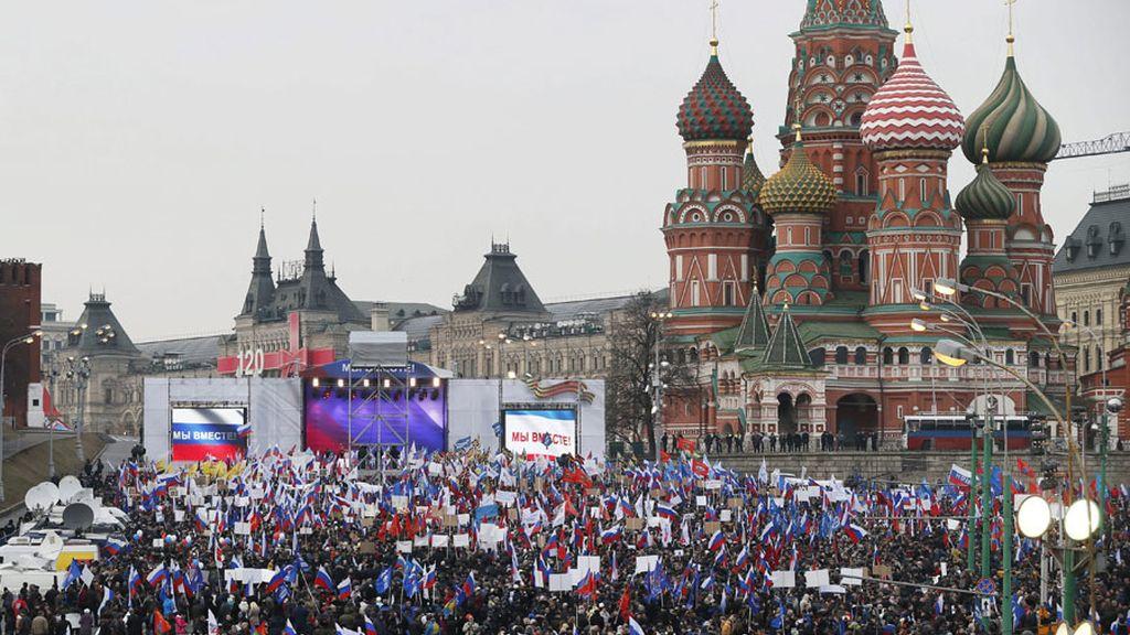 Moscú apoya al pueblo de Crimea