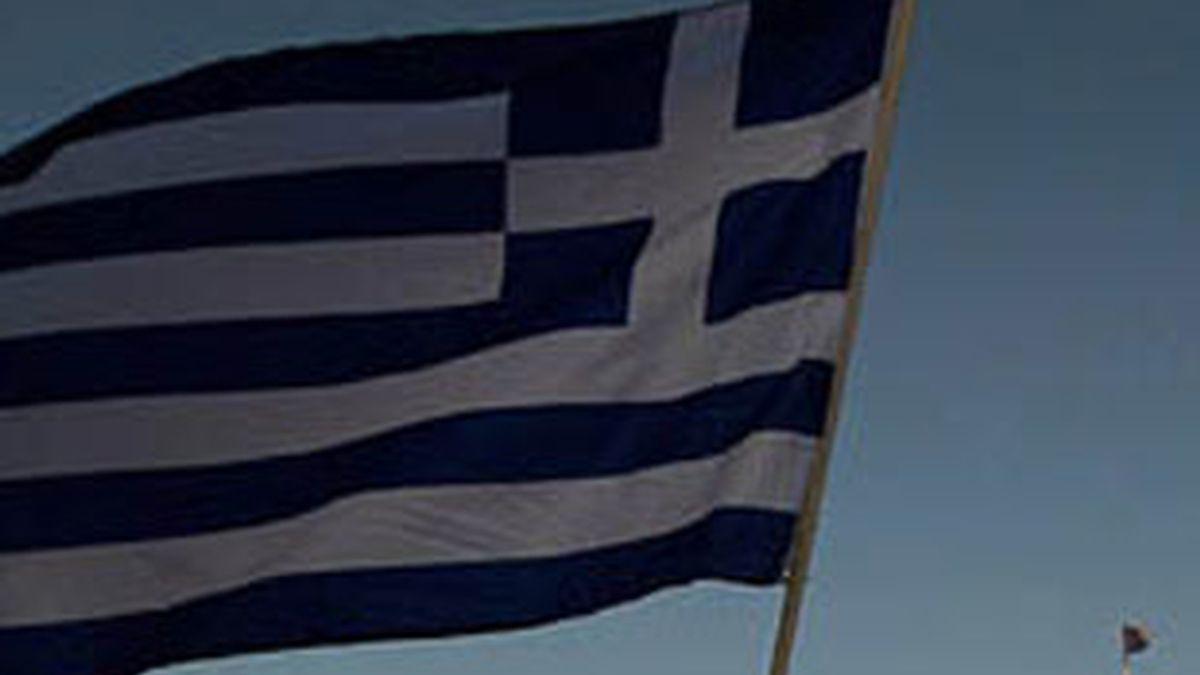La bandera griega. Foto: EFE