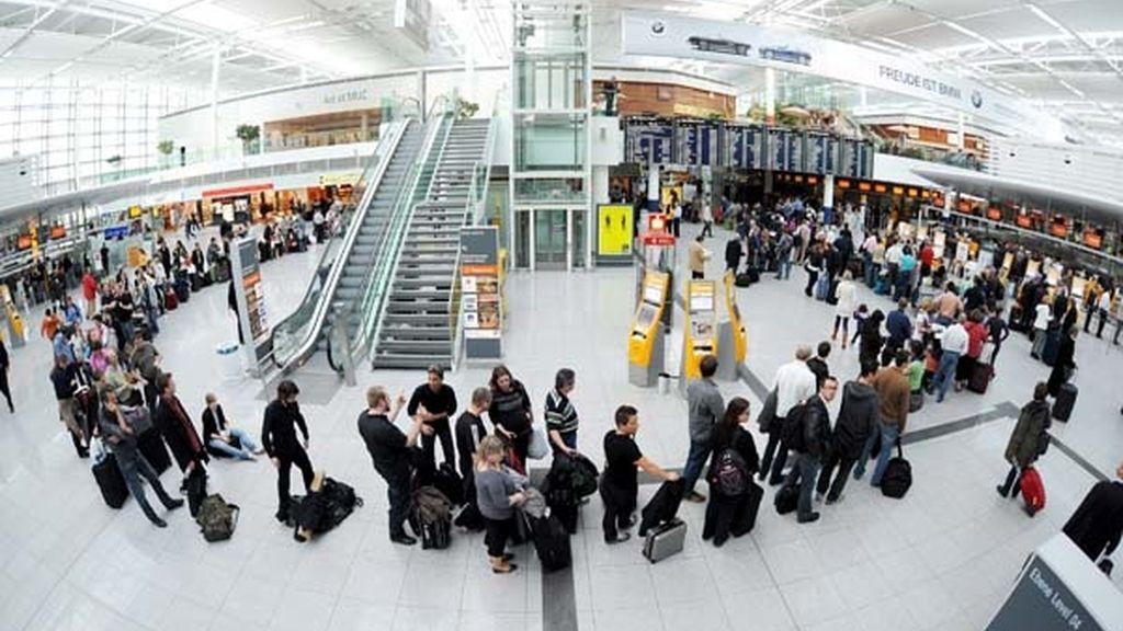 Afectados todos los aeropuertos alemanes