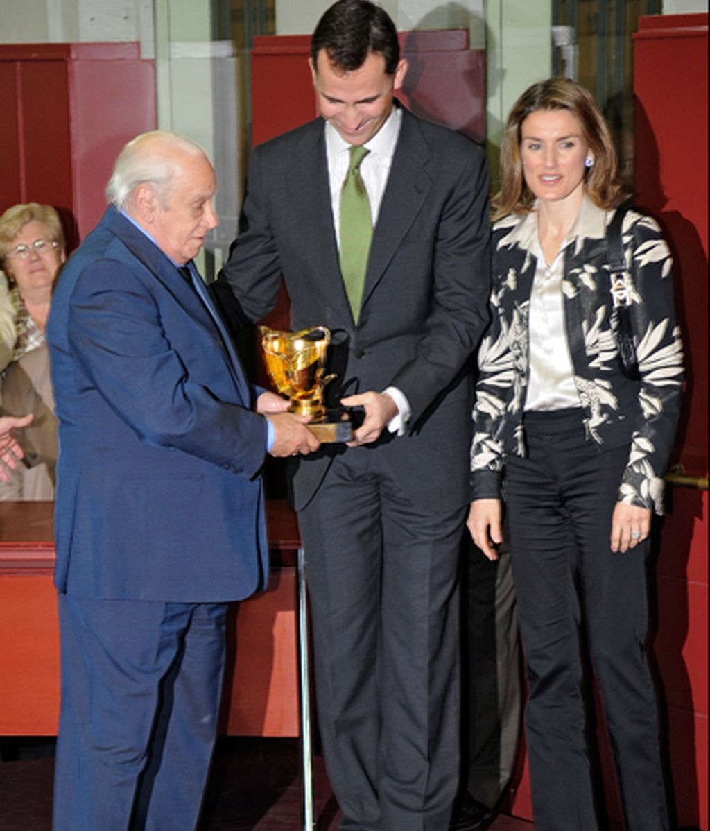 Galardonado por los Príncipes de Asturias