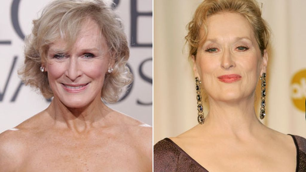 Glenn Close y Meryl Streep