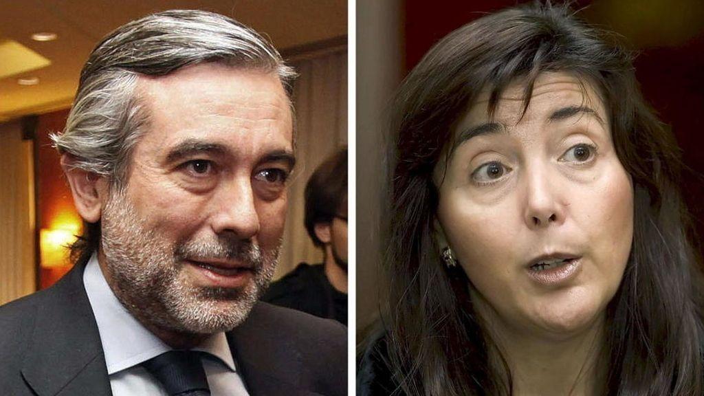 Concepción Espejel y Enrique López, magistrados de la Audiencia Nacional
