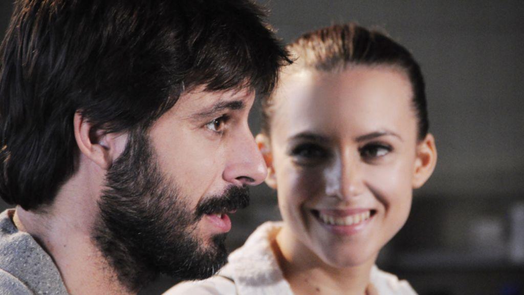 Hugo Silva y Aura Garrido