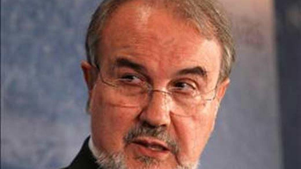 Imagen de archivo del ministro de Economía, Pedro Solbes. Foto: EFE