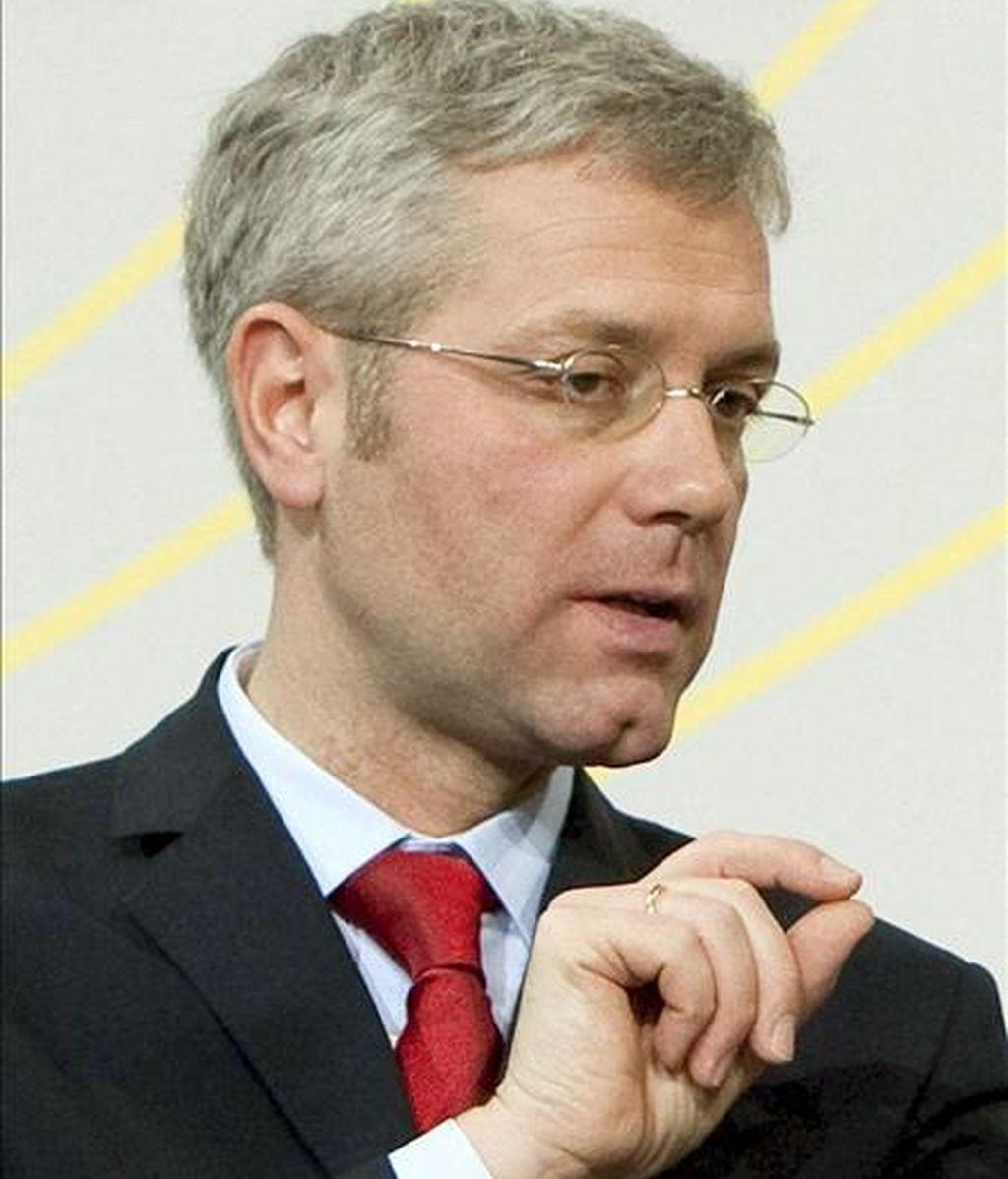 El ministro de Medio Ambiente alemán, Norbert Röttgen. EFE/Archivo