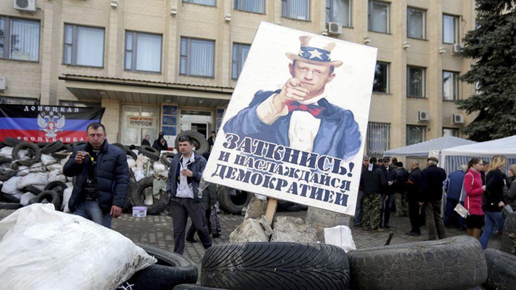 Vence el plazo dado por Kiev a los prorrusos para que depongan las armas
