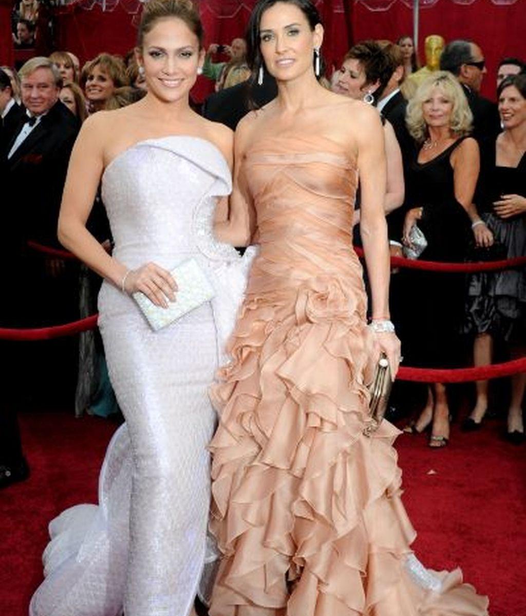 Jennifer Lopez y Demi Moore