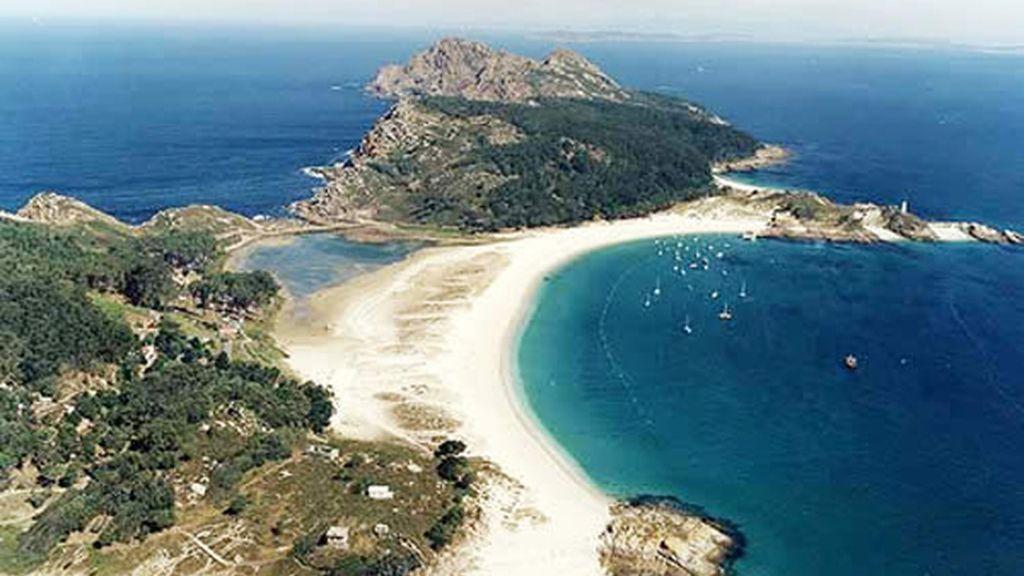 Rodas. Islas Cíes en Galicia