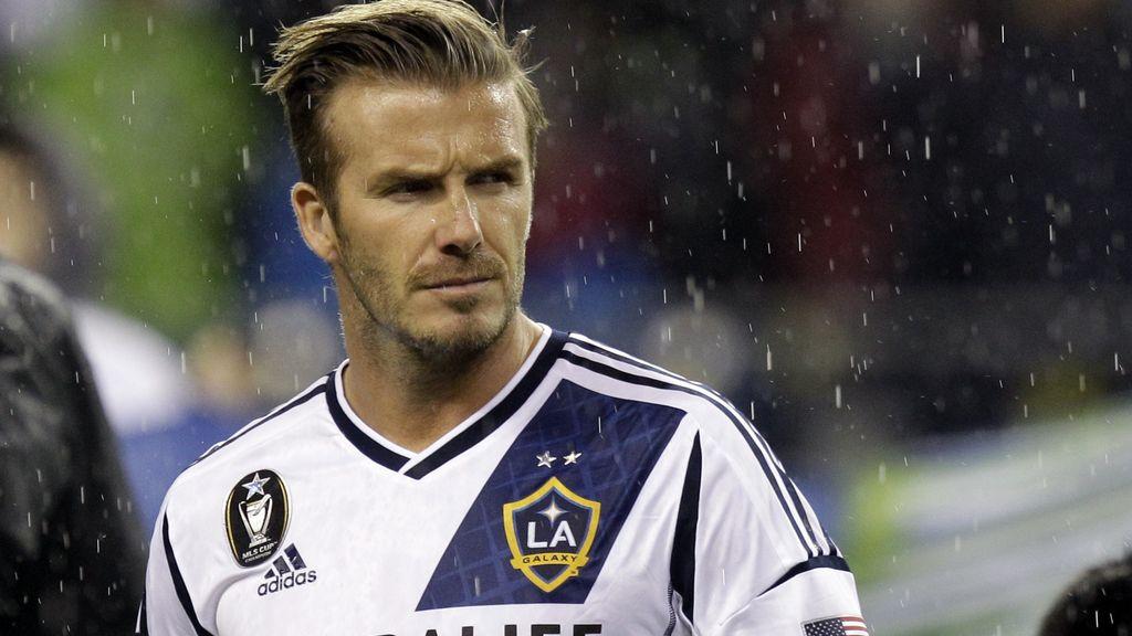 David Beckham, futbol