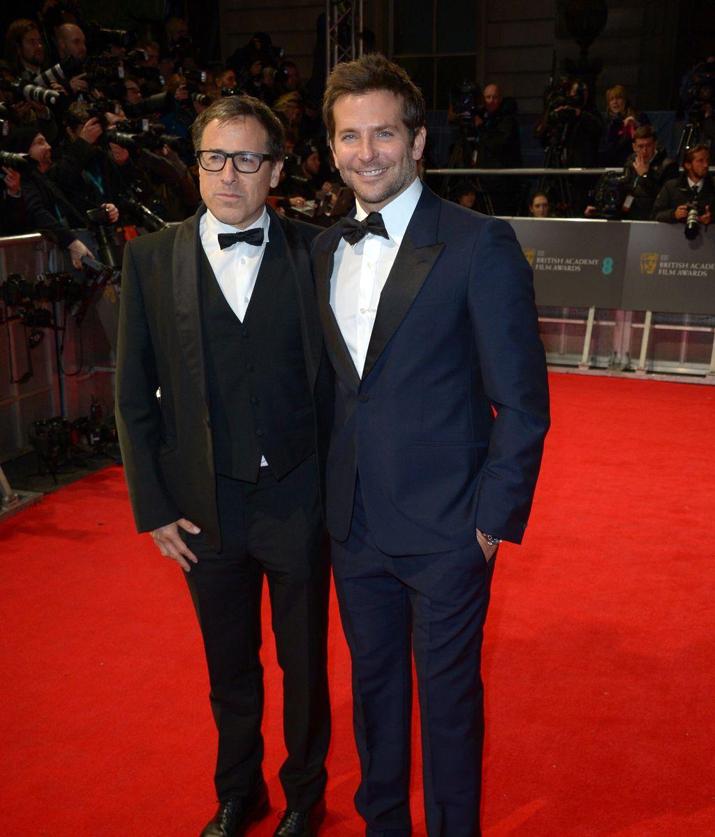 Bradley Cooper y el director David O. Russell
