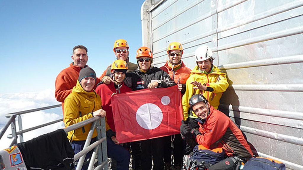 Calleja corona el Mont Blanc en compañía de Marc Coma, Héctor Barberá y Pedrosa