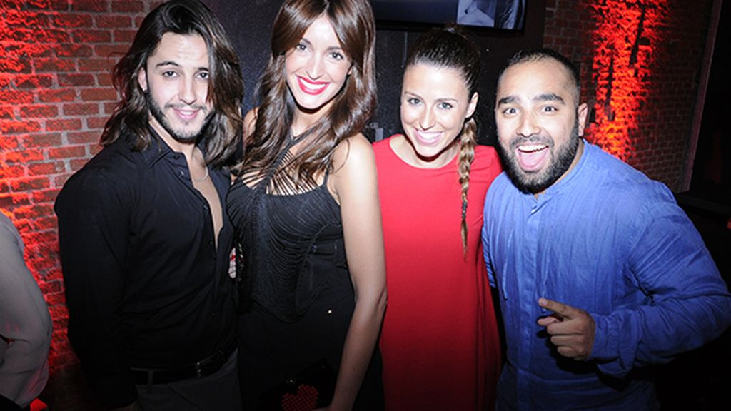Gabriel Llano, Noelia López, Carla de Miguel y Tomás Palacios