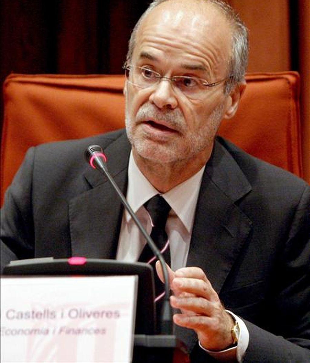 El conseller de Economía y Finanzas, Antoni Castells. EFE/Archivo
