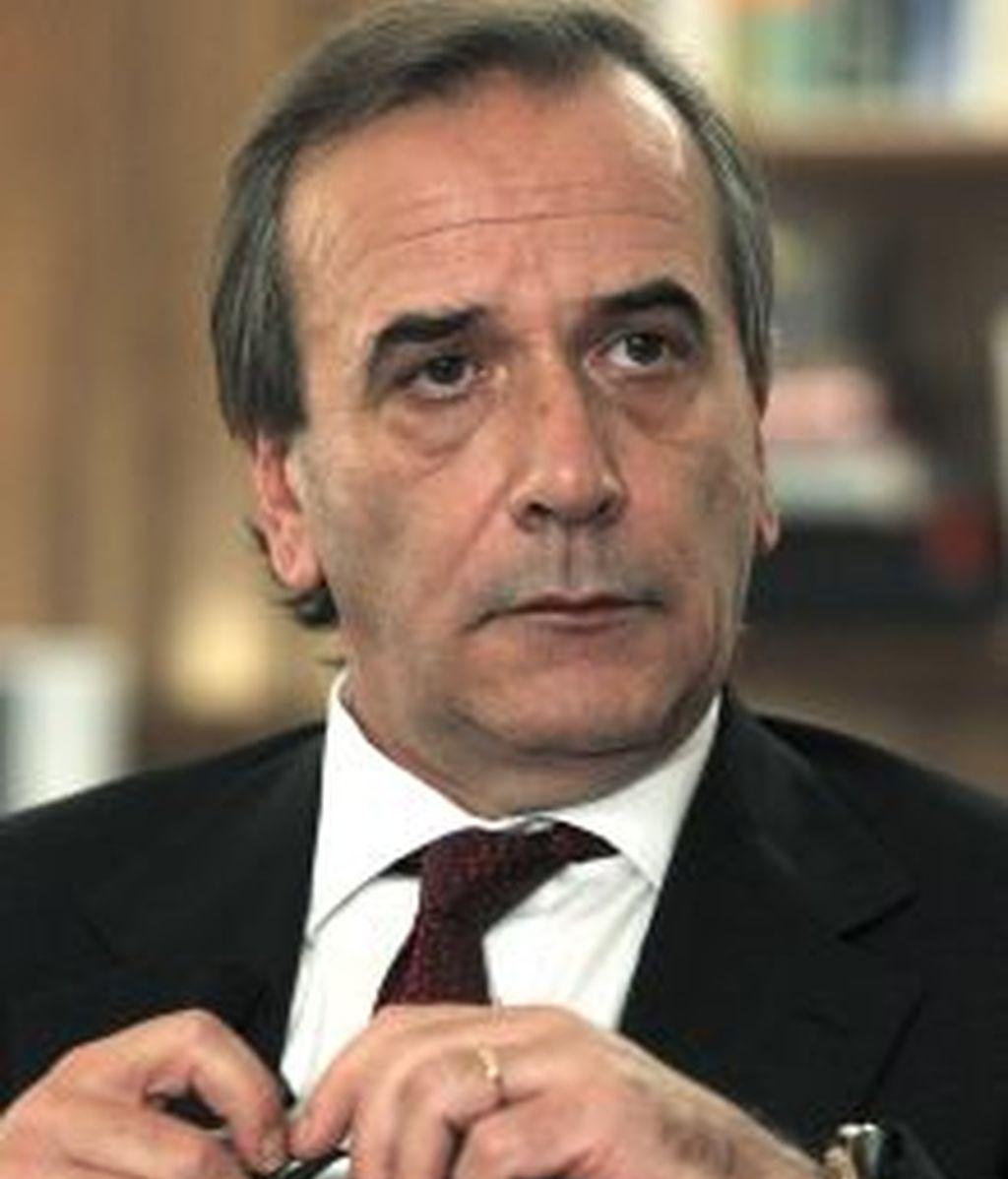 Fotografía de archivo tomada el 23/01/2011 del portavoz del PSOE en el Congreso, José Antonio Alonso. EFE