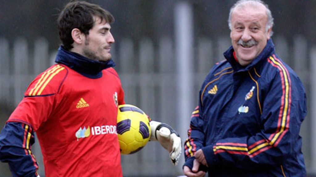 Del Bosque y Casillas