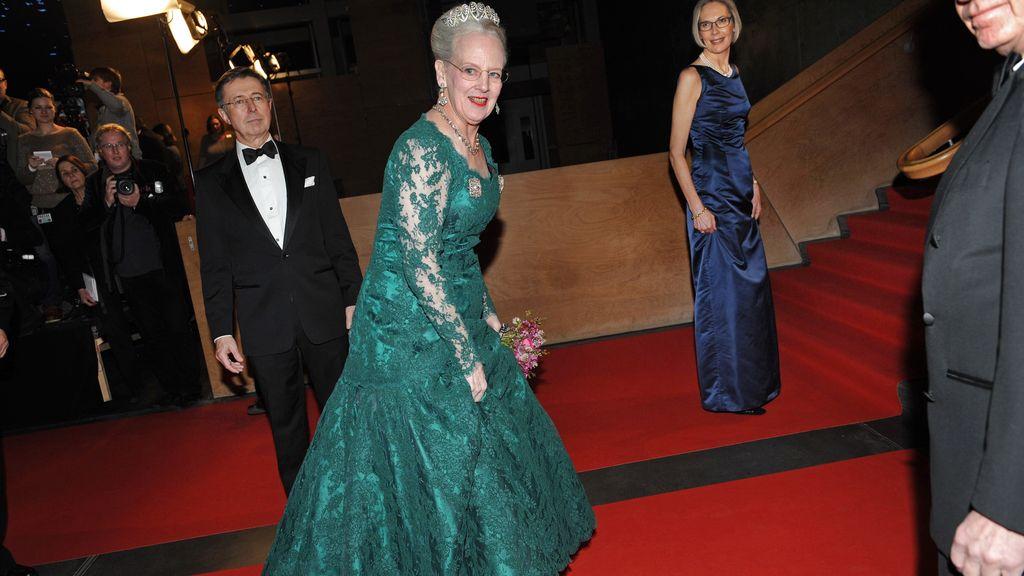 La reina Margarita de Dinamarca acude al concierto en su honor en DR Concert Hall