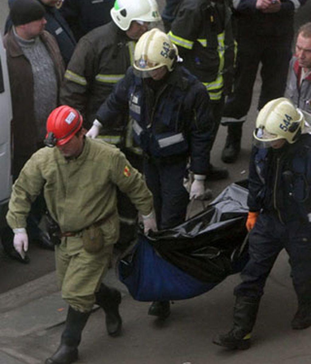 Varios de los atentados más sangrientos se han registrado en el Metro de Moscú. Foto: Informativos Telecinco