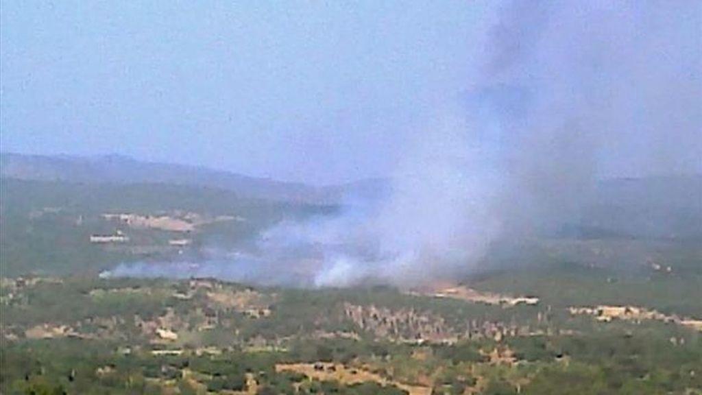 Incendio Toledo (EFE)