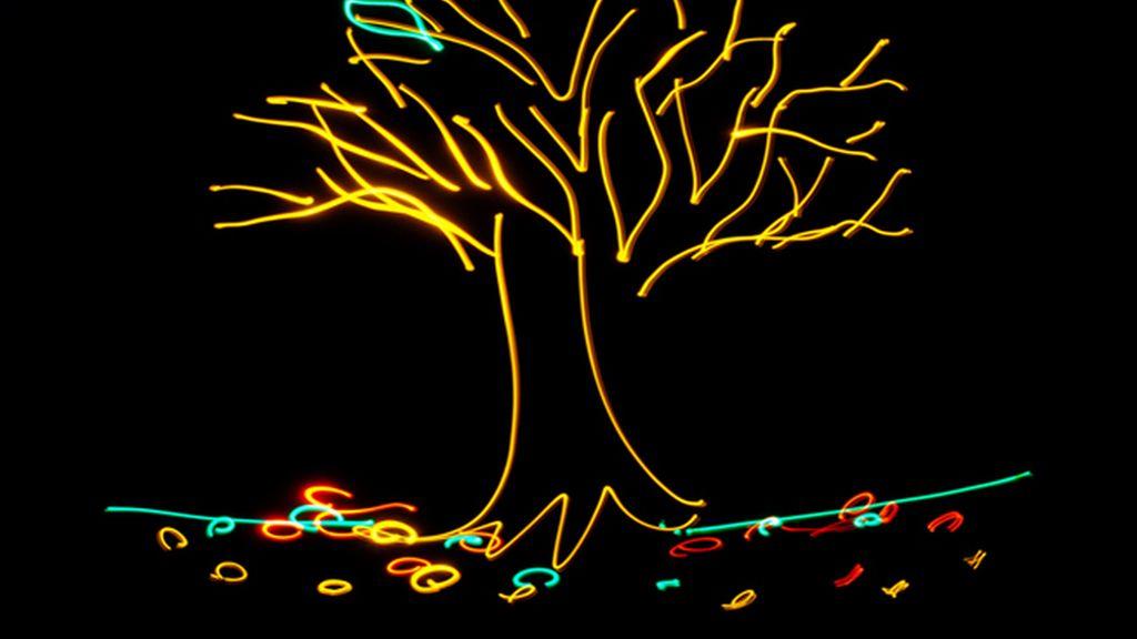 Dibujando luces