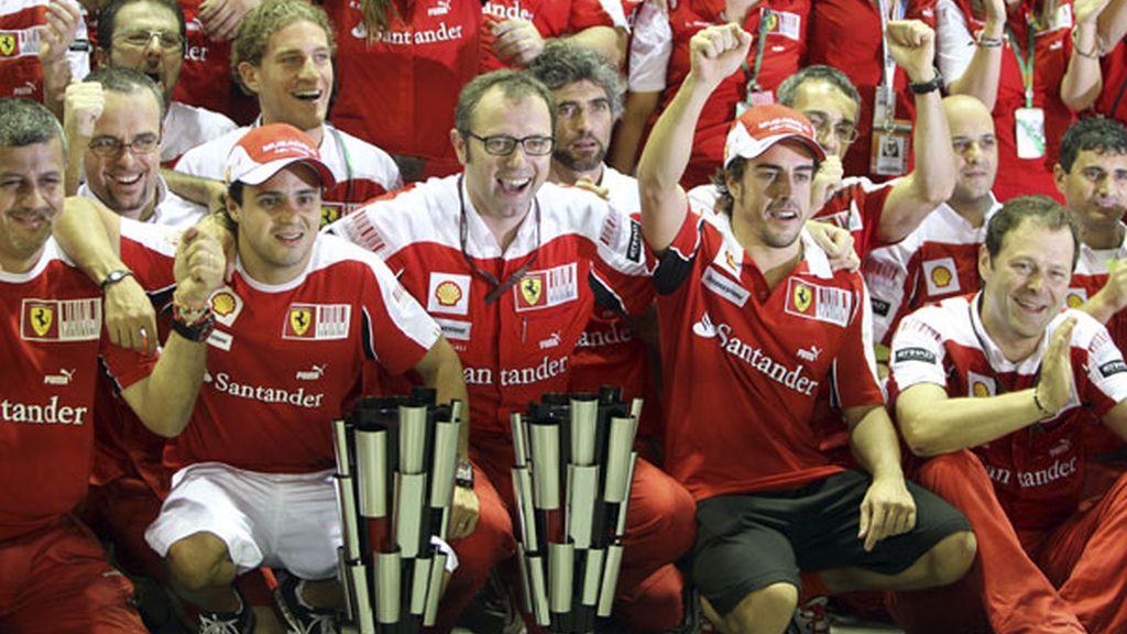 Final feliz para un fin de semana casi perfecto para Ferrari