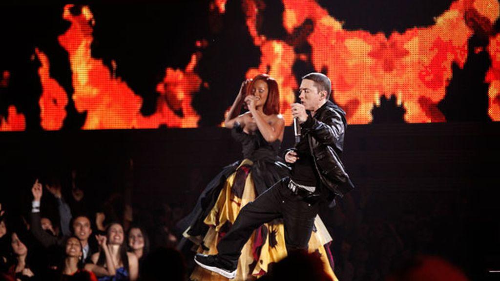 Rihanna y Eminen